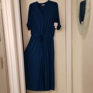 Just Fab new with tags Long dress Size XL